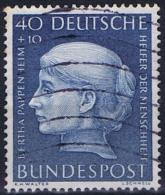 Germany, Bundespost: Mi Nr 203 , 1954 Used