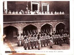 PHOTO ORIGINALE PARIS SOIR : La Proclamation Du Couronnement Du Roi Georges VI à Londres - Célébrités