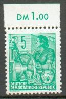 RDA - Série Courante (typo) YT 149** / Freimarken Fünfjahrplan (Bdr.) Mi.Nr. 406 XI** Oberrand - Ongebruikt