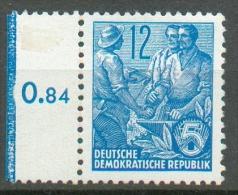 RDA - Série Courante (typo) YT 153** / Freimarken Fünfjahrplan (Bdr.) Mi.Nr. 410 XII** Seitenrand - Ongebruikt