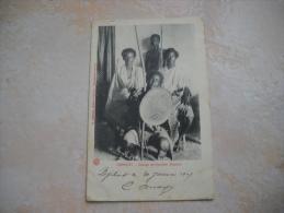 CPA DJIBOUTI Groupe De Guerriers Danakils - Gibuti
