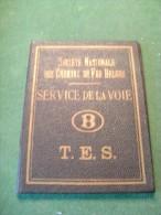 CB2 F SNCBcertificat Candidat Signaleur T.E.S 1947 Service De La Voie - Transports