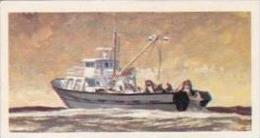 Brooke Bond Vintage Trade Card Saga Of Ships 1970 No 46 Trawler - Tea & Coffee Manufacturers