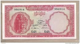 Cambogia - Banconota Non Circolata Da 5 Riels - Cambodja