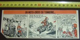 PUB PUBLICITE TIMBRE TINTIN LIMONADE JU´CY Et WHIP MOTO CROSS MITTEI   PUBLIART - Collections