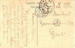 Gand 3 (8/10/1914) Vers Gand 1 (12/10/1914) Jour De La Prise De La Ville De Gand V Descriptif - Guerra 14 – 18