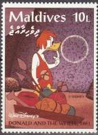 Maldivas 1995 Scott 2054 Sello ** Walt Disney Escenas De Donald And The Wheel 1961 10L Maldives Stamps Timbre Maldives - Disney