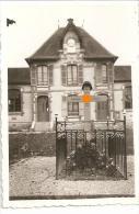 WW2 PHOTO ORIGINALE Tombe Soldat Allemand  Face Mairie De LAINES AUX BOIS Près Troyes AUBE 10 - 1939-45