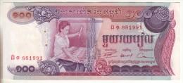 3 Billets De 100, 500 Et 1000 Riels Cambodge 1973 1975 - Cambodia