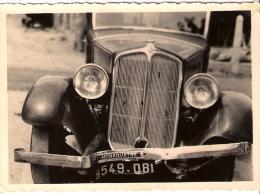 PHOTO..RENAULT ..MONAQUATRE 8..ACCIDENTE à BATZ SUR MER .loire Atlant...aout 1935. Form:108 X 76 Mm - Automobiles