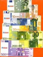 1997  LOT DE 7 BILLET MINILAND POUR EDUCATION SCOLAIRE PASSAGE A L´ EURO ETAT SUPER - Sin Clasificación