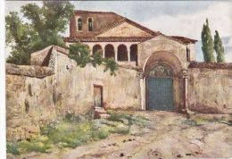 """Cp, ITALIE , ROMA , Ingresso Alla Chiesa Di S. Saba,VII Congresso Della """"Commission Internationale Des Grands Barrages"""" - Unclassified"""