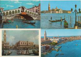7 POSTCARDS: VENEZIA - BATEAUX / Boten & Schepen/ Boats & Ships / Boten & Schiffe - Canal - (3 Scans) - Postkaarten