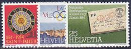 CH-Schweiz 1984. Philately. Briefmarkenausstellung NABA '84  (B.1010) - 1931-Heute: 2. Rep. - ... Juan Carlos I