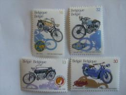 Belgie Belgique 1995 Moto Minerva FN La Mondiale Gillet  Yv COB 2615-2618 MNH ** - Nuevos