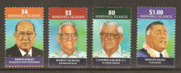 Marshall Personalities 2001 ** Marshall Islands Famous People 2001 ** - Marshall Islands