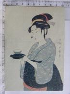 CPM - Paris Musée Guimet - UTAMARO (1753-1806) - Maison De Thé Estampe Japonaise - Women