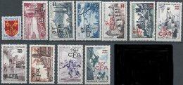 REUNION -Série Complète Neuve De 1955-56 - Réunion (1852-1975)