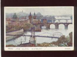Prag Praha Pragues Altstadt édit. F.J. Jedlicka N° 5 - Tschechische Republik