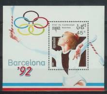 Mua874 SPORT OLYMPISCHE SPELEN GYMNASTIEK OLYMPIC GAMES BARCELONA RHYTHMISCHE SPORTGYMNASTIK CAMBODGE 1990 PF/MNH - Zomer 1992: Barcelona