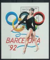 Mua875 SPORT OLYMPISCHE SPELEN GYMNASTIEK OLYMPIC GAMES BARCELONA GYMNASTICS RHYTHMISCHE SPORTGYMNASTIK LAOS 1990 PF/MNH - Zomer 1992: Barcelona