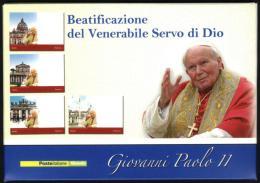 POPE JOHN PAUL II PAPA GIOVANNI PAOLO II PAPIEZA JANA PAWLA II Karol Wojtyla  - Carte Maximum - CARNET - Libretto - Vatican