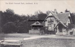 Tea Kiosk Cornwall Park Auckland New Zealand Postcard (F4670) - New Zealand
