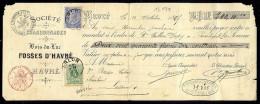 Belgique -  Havré - Société Des Charbonnages De BOIS DU LUC - FOSSES D'HAVRE - 1895 - 1800 – 1899