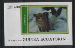 Equatorial GUINEA  Dogs S/Sheet   MNH - Chiens