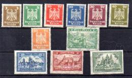 œuvre Des Premiers Secours, 344 / 347**, Cote 160 €, - Unused Stamps