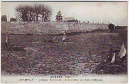 LA GRANDE GUERRE 1914.1918. BATAILLE DE LA MARNE. ETREPILLY. QUELLES TOMBES DES NOTRES TOMBES AU CHAMP D'HONNEUR - War 1914-18