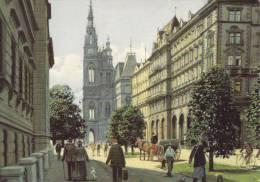 Ak Alt Wien, Rathaus - Wien