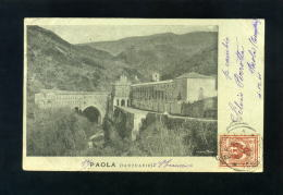 S4262 CARTOLINA COSENZA SANTUARIO DI PAOLA   FP. V. - Cosenza