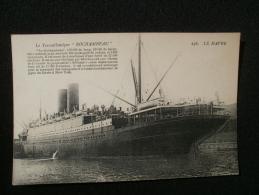 PAQUEBOT ROCHAMBEAU - Steamers