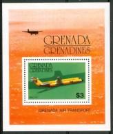 1976 Grenada Grenadines Aerei Aircraft Avions Block MNH** Nu177 - St.Vincent E Grenadine