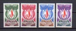 FRANCE    Neuf **      Y. Et T.  Service UNESCO   N° 39 / 42     Cote: 5,00 Euros - Service