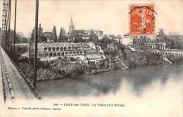 81 - L'Isle-sur-Tarn - Le Palais Et Le Rivage - Lisle Sur Tarn