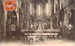81 - L'Isle-sur-Tarn - Intérieur De L'Eglise - Lisle Sur Tarn