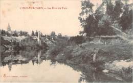 81 - L'Isle-sur-Tarn - Les Rives Du Tarn (pêcheur) - Lisle Sur Tarn