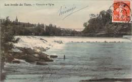 81 - L'Isle-sur-Tarn - Chaussée Et Eglise - Lisle Sur Tarn
