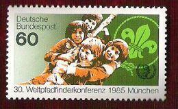 RFA - 1985 - YT N°1086 - Année Internationale De La Jeunesse / Scoutisme - [7] Federal Republic