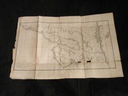Carte Ancienne 1791 Lac De Nicaragua Rivière St Juan Rare Costarica 6 Images - Geographical Maps