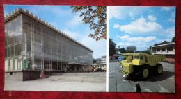 Economic Achievments Exhibition Of Belarus - Truck Belaz - Minsk - Belarus - USSR - Unused - Belarus