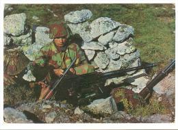 B3281 Esercito Italiano - Mitraglieri In Postazione / Viaggiata 1974 - Manovre
