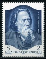 Österreich - Michel 1460 - ** Postfrisch - Franz Stelzhamer - Wert: 0,40 Mi - 1945-.... 2ª República