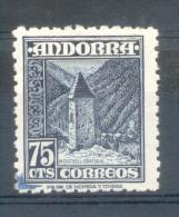 ANDORRA ESPAÑOLA AÑOS 1948-1953 YVERT NR. 47 PROOF PRUEBA RARISIME - Unused Stamps