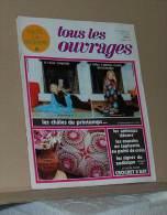 Revue Toute La Broderie Tous Les Ouvrages N° 212 De 1975 + Le Plan Nappe Au Point Grébiche Sommaire Dans L'annonce - Moda