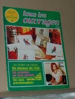 Revue Toute La Broderie Tous Les Ouvrages N° 215 De 1975 + Le Plan Guirlande De Fleurs Pour Parure De Lit - Moda