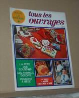 Revue Toute La Broderie Tous Les Ouvrages N° 217 De 1975 + Plan Nappe Ronde Style Année Vingt, Sommaire Dans L'annonce - Moda