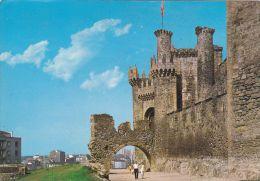 Cp , ESPAGNE , PONFERRADA , Castillo - Le Château - León